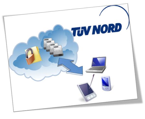 TN-Cloud Solution – FileXchange | TÜV NORD