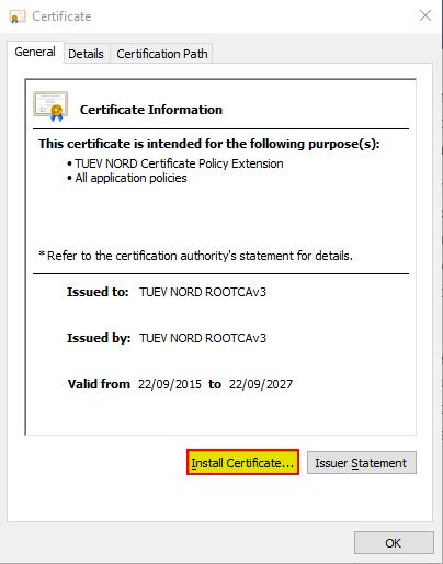 Digital Signature - Customer login | TÜV NORD