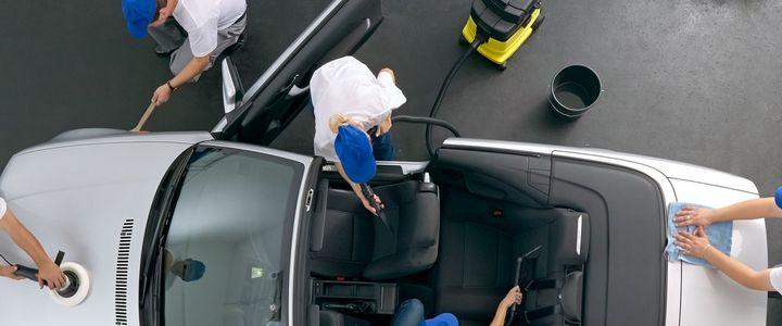 Fahrzeugpfleger:in inkl. Führerschein Kl. B*