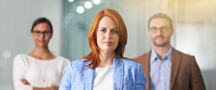 Weibliche Führung im Mittelstand